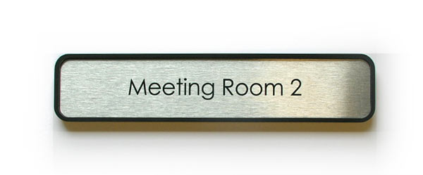 office door name plates metal office signage