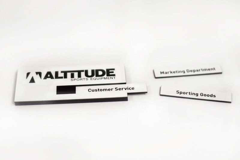 Name Badge: Engraved Name Tag With Removable Insert