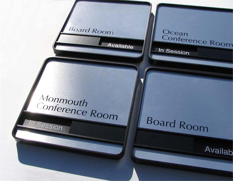 conference room signs sliding availability office signs room signs