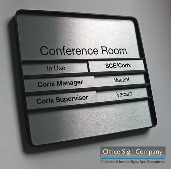 Conference Room Signs Holders