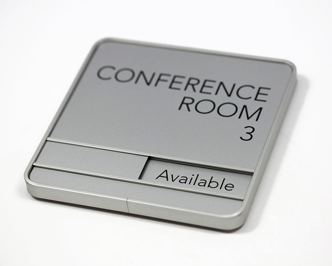 Conference Room Nameplates