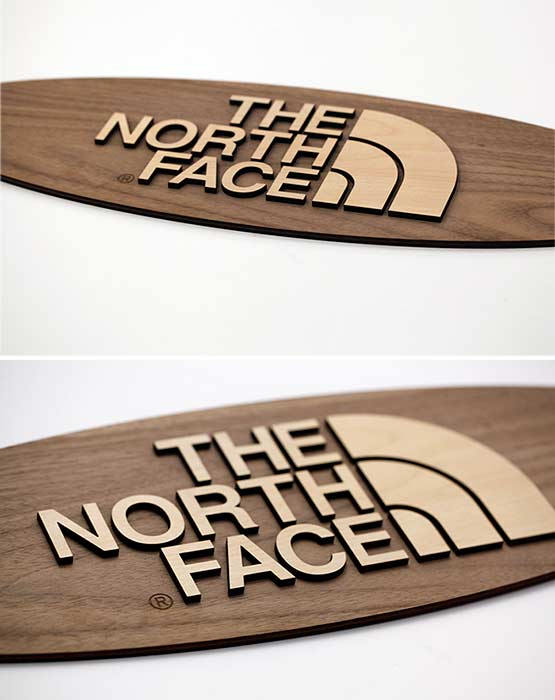 Wood office signs and door signs