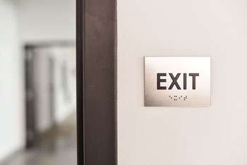 Ada Exit Signs Braille Exit Signs
