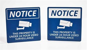 Camera On Site Signs - Surveillance Signs