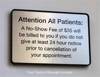Custom Medical Office Signs and Check In Signs