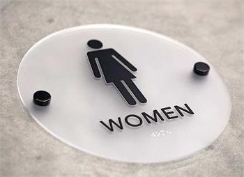 Stylish Restroom Signs With Braille Cool Bathroom Signs ADA - Custom bathroom signs