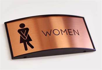 kick ass restroom signs for cool custoemrs