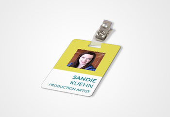 Custom ID Badges Identification Badges No Setup Fee - Custom id badges