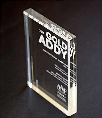 Etched Clear Acrylic Award