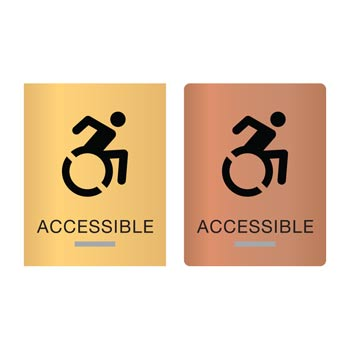 New York ADA Braille Accessible Signs