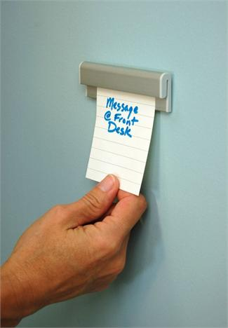 Wall Message Display And Poster Gripper For Mount Messages
