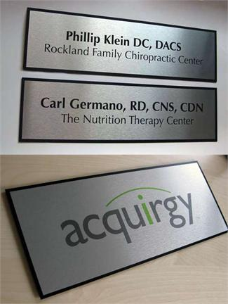 Corporate Logo Name Plates and Entry Signage