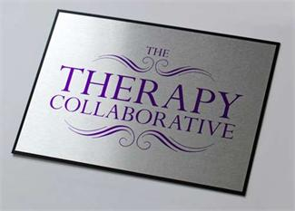 Contemporary Brushed Metal Office Signs for a Lasting Impresion