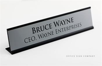 engraved professional signage