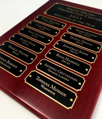 Perpetual Plaque - Laser Engraved Plates (13)