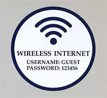 Custom WIFI Decals and Stickers