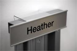 Cubicle Hanger for Nameplates