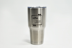 30 oz Yeti Style Mug with Custom Text