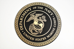 Cast Metal Military Seal