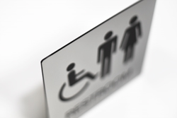 Durable Restroom Signs