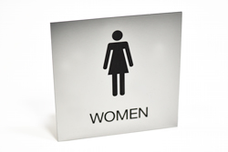Engraved Washroom Signs