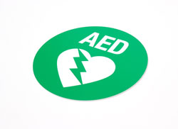 AED Safety Sign