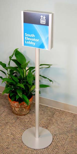 Custom Stanchion & Floor Stand Signage