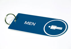 Key Ring for Restrooms