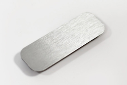 name tags brushed metal name badges engraved name tags