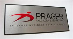 Office Door Sign with Logo