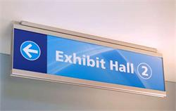 Wayfinding Ceiling Signs