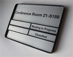 Government Room Signs Available to Public