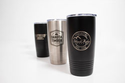 Stainless Steel 20 oz. Travel Mug