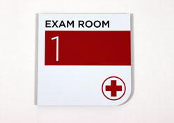 Personalized Signs for Exam Rooms