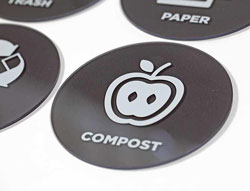 Compost Recycle Sign