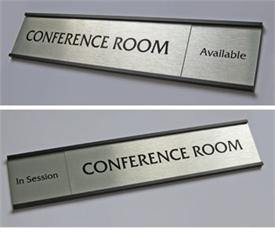 Conference Room Signs Sliding Door Signs InOut Signs - Conference room door signs for offices