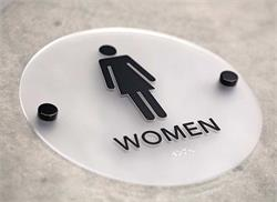 Stylish Restroom Signs With Braille Cool Bathroom Signs