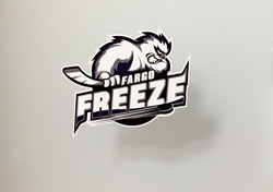 Fargo Freeze Decal Contour Cut