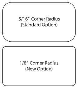 Corner Options for Mini Door Markers