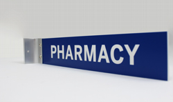 Pharmacy Corridor Sign