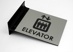Elevator Wall Sign - Room Flags
