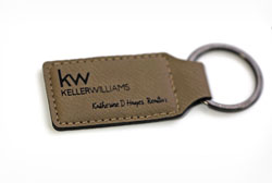 Personalized Rectangular Keychain