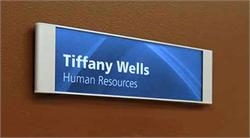 Removable Insert Office Sign Frames