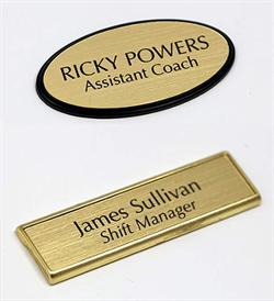 Custom Engraved Badges and Name Tags