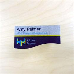 Name Badges in Custom Shapes