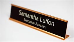 Great Counter and Receptionist Signs and Name Plates