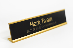 Office Desk Signs - Personalized