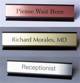 Individual NamePlates For Office