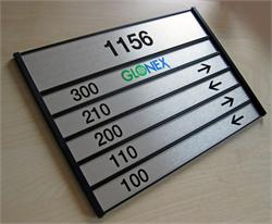 Suite Room Directional Signs
