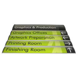 Curved Directory Sign - Multiple Piece Directory Frame
